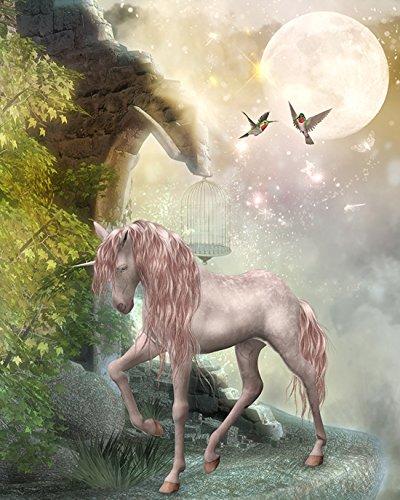 papel-pintado-diseno-de-fantasia-digital-paisaje-con-unicornio-en-la-noche-tamano-200-cm-l-x-260-cm-