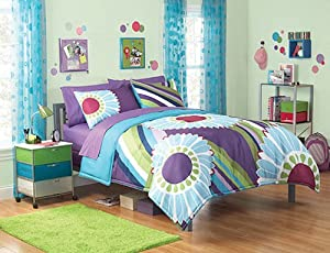 Girls Kids Bedding- Foxy Lady Comforter Set - Full Size | eBay |Teen Bedding Sets For Fun
