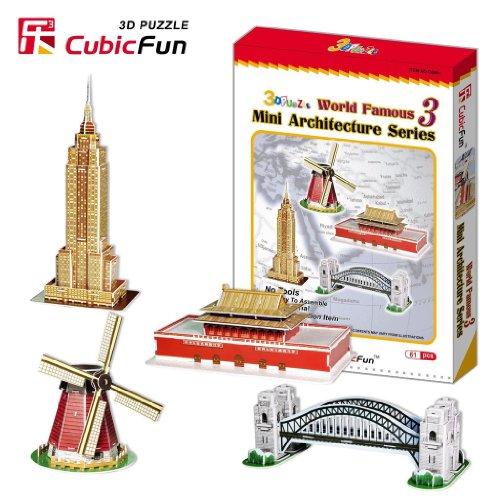3D Puzzle Studio Mini Architecture Series 3