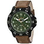 Timex Men's T499969J Expedition Camper Trail Analog Display Analog Quartz Brown Watch