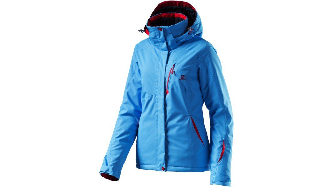 salomon damen skijacke ski jacke express jacket blue line. Black Bedroom Furniture Sets. Home Design Ideas