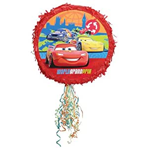 "Disney's Cars 2 - 17"" Pull String Pinata Party Accessory"
