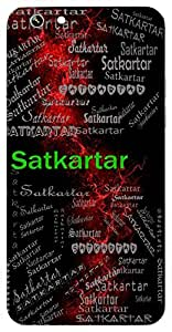 Satkartar (Lord Vishnu) Name & Sign Printed All over customize & Personalized!! Protective back cover for your Smart Phone : Moto X-STYLE