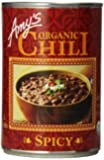 Amy's Organic Chili, Spicy, 14.7 Ounce (Pack of 12)