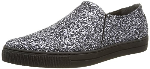 Eleven Paris - Sharp Glitter, Sneakers da donna, argento (silver), 37