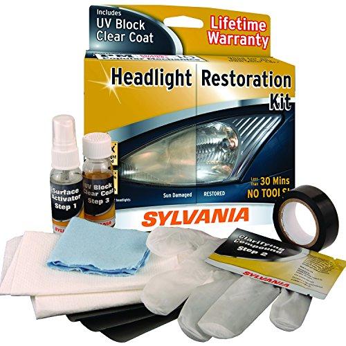 sylvania automotive headlight cleaner and uv protection kit new ebay. Black Bedroom Furniture Sets. Home Design Ideas