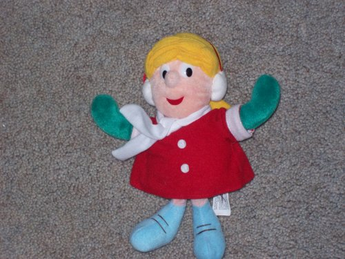 karen frosty the snowman plush