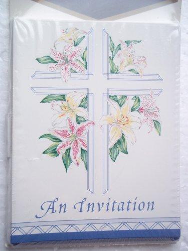 Boy Christening Invitations