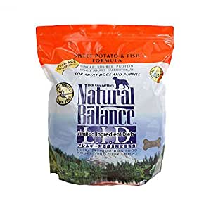 Natural balance limited ingredient diets sweet potato and for Natural balance sweet potato and fish