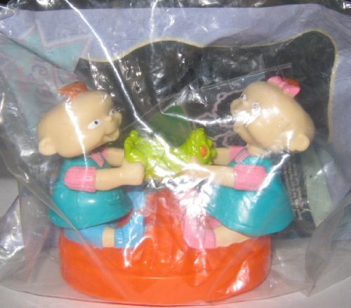 Burger King Kids Meal Toy - Rugrats - Phil and Lil (Phil And Lil compare prices)