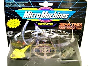 Star Trek: Deep Space Nine MicroMachines - Cardassian Galor Warship - Space Station Deep Space Nine - Runabout