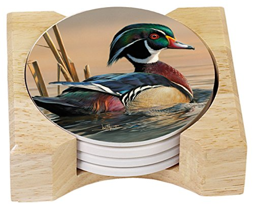 Duck Themed Drink Coasters
