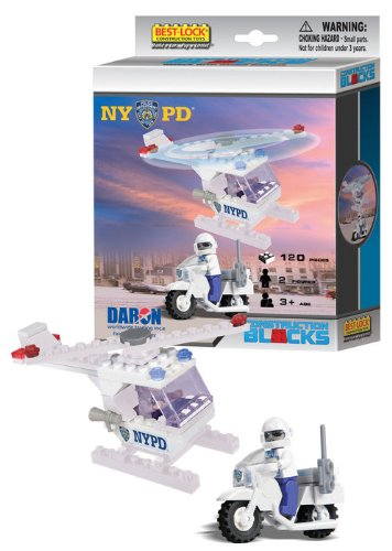 NYPD 120 Pc Construction Set