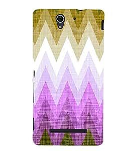 EPICCASE flash design Mobile Back Case Cover For Sony Xperia C3 (Designer Case)
