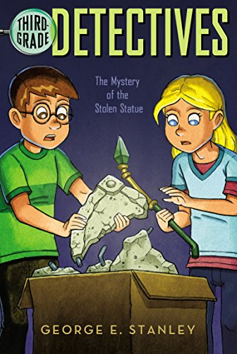 The Mystery Of The Stolen Statue (Third-Grade Detectives) front-671189