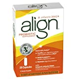51OgBtRZv0L. SL160  Align Digestive Care Probiotic Supplement, 28 Count