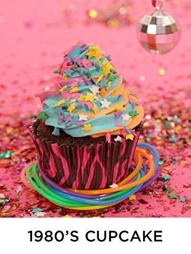 1980s Cupcake