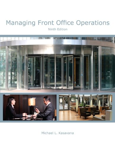 Managing Front Office Operations with Answer Sheet (Ahlei) (Ahlei - Front Office Operations)