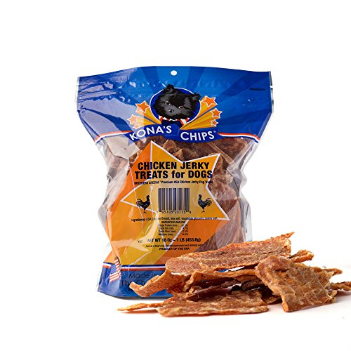 KONAS-CHIPS-Chicken-Jerky-Dog-Treats-Made-In-USA-ONLY-100-USDA-Chicken-Chemical-and-Grain-FREE-All-Natural-Healthy-Safe-Treats-For-Your-Dog-1-lb-Bag