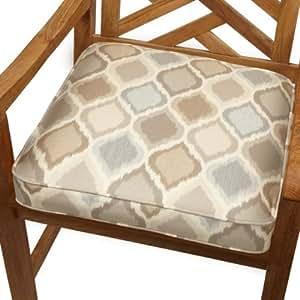 Amazon Mozaic Indoor Outdoor Corded Chair Cushion