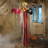 LED Hanging Clown - Halloween Decor by OTC