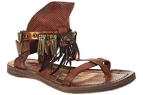 A.S.98 534010-0202 - Sandali Da Donna Pantofole - rosso, Donna, 36 EU