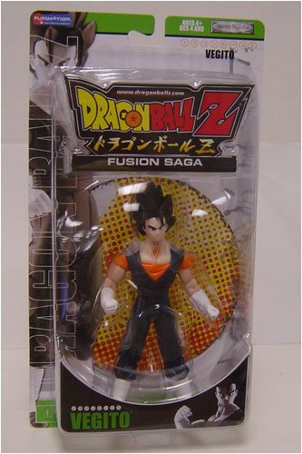 Buy Low Price Jakks Pacific Dragonball Z Fusion Saga 2 Action Figure Vegito (B000WNZ84S)
