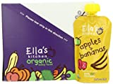Ella's Kitchen Organic Baby Food Apples + Bananas (4+months, 3.5-Ounce Pouches (Pack of 7)