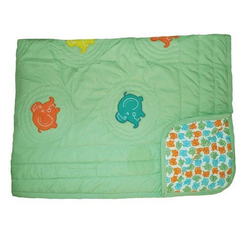 Elephant Twin Bedding 3021 front