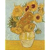 """Kunstdruck (Vincent van Gogh - Stilleben mit Sonnenblumen) als Poster, Leinwandbild, Dibondbild oder auf Acrylglas in verschiedenen Formatenvon """"bilder-bilderrahmen.de"""""""