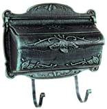 Special Lite Products SHF-1001-VG Floral Horizontal Mailbox, Verde Green