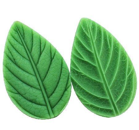 Luxbon Cartoon Trees Leaf Shape Handmade Diy Soap Oven Art Craft Fondant Mold/Tray Silicone Decorating Tools Randomly Color