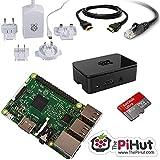 ThePiHut Raspberry Pi 3 Starter/Media Centre Kit. (Python, Kodi, Minecraft, Scratch and more)