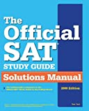 img - for The Official SAT Study Guide Solutions Manual by Tsai Van (2009-03-01) Paperback book / textbook / text book