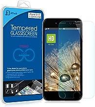 JETech® Vidrio Templado Protector de Pantalla Empaquetado al por Menor para iPhone 6 4.7 pulgadas
