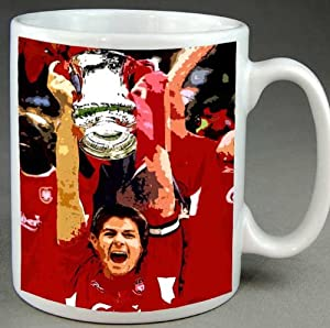 Steven Gerrard Liverpool Fc Stylish Coffee Mug from MODERN WORLD