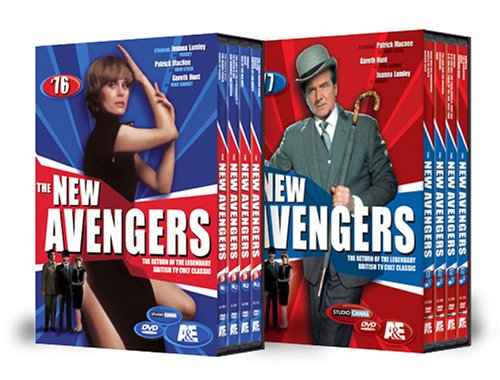 The New Avengers: The Complete Series [DVD] [Region