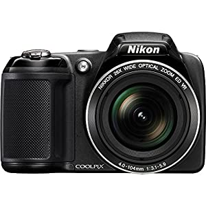 Nikon COOLPIX L320 16MP 720p HD Video Black Digital Camera (Certified Refurbished)