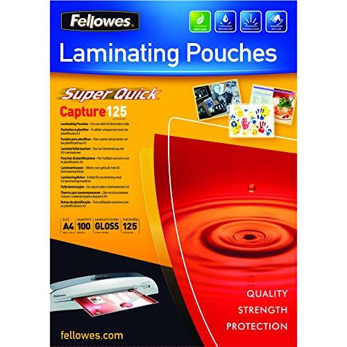 fellowes-5440101-pack-de-100-fundas-de-plastificar-formato-a4-125-micras