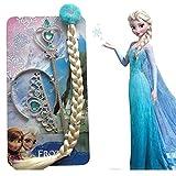 #9: Fancy steps Accessories frozen elsa Anna (Crown + Hair Band + Frozen Wand) birthday gift