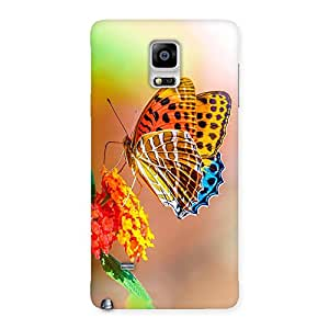 Impressive Queen Butterfly Back Case Cover for Galaxy Note 4
