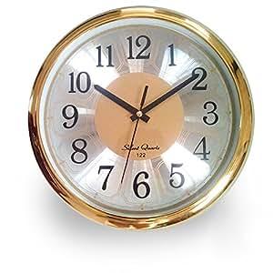 Bekith 12 Inch Aluminium Wall Clock Home Kitchen