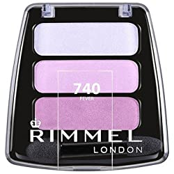 Rimmel London Colour Rush Eye Shadow Trio, Fever
