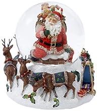 Kurt Adler Santa with Big Bag Musical…