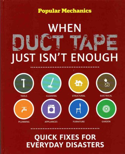 When Duct Tape Isn't Enough / Stain Rescue (2 - Set) (When Duct Tape Isn't Enough - Quick Fixes for Everyday Disasters / Stain Rescue - The A-Z Guide to Removing Smudges, Spots & Other Spills, Combined Retail Price $25.90) (Good Housekeeping Stain Rescue compare prices)