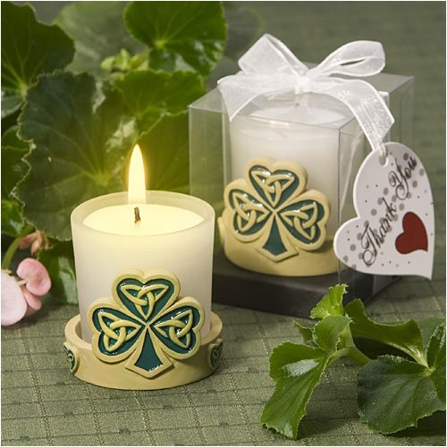 Trinity love knot candle holder wedding favors (Set of 32)