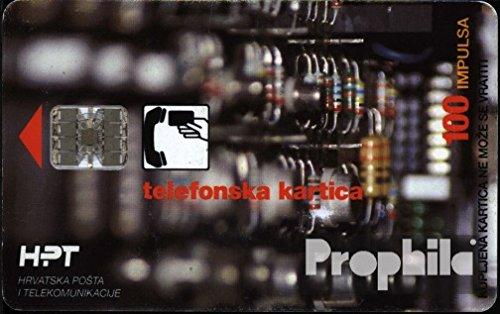 Kroatien 2400 100 Impulsa gebraucht Kalender (Telefonkarten für Sammler)