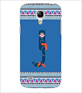 PrintDhaba Pattern D-4141 Back Case Cover for SAMSUNG GALAXY S4 MINI (Multi-Coloured)