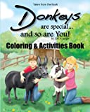 img - for Donkeys Are Special and so Are You! Coloring & Companion Book book / textbook / text book
