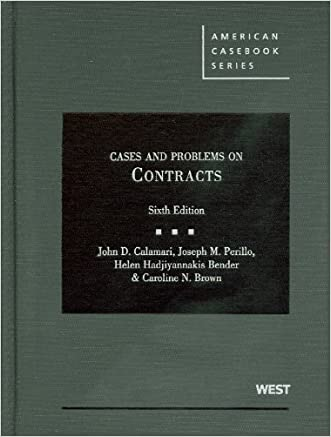 Cases and Problems on Contracts, 6th Edition